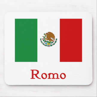 Romo Mexican Flag Mouse Pad