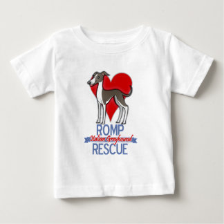 ROMP Italian Greyhound Rescue of Chicago Apparel Baby T-Shirt