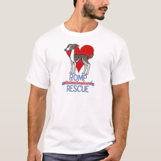 ROMP Italian Greyhound Rescue of Chicago Apparel T-Shirt