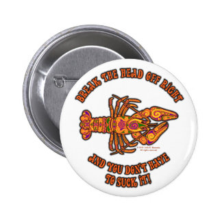Rompa el botón principal de los cangrejos pins