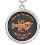 Rompa el collar principal de los cangrejos