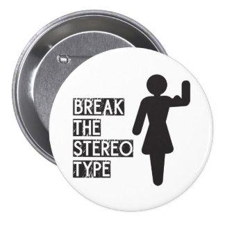 Rompa el estereotipo