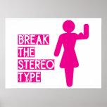 Rompa el estereotipo - poster