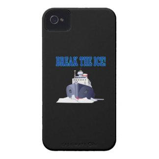 Rompa el hielo carcasa para iPhone 4
