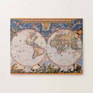 Rompecabezas #1 del mapa de Viejo Mundo