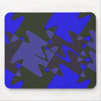 Rompecabezas abstracto azul alfombrilla de raton