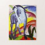 Rompecabezas azul del caballo de Franz Marc