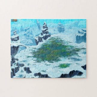 Rompecabezas azul del planeta de la vida de la gal