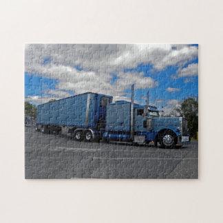 Rompecabezas azul grande de Pete 379