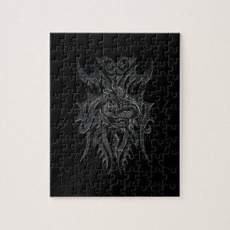 Rompecabezas céltico del dragón