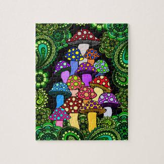 Rompecabezas colorido de las setas