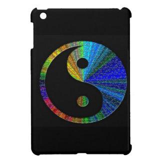 Rompecabezas colorido de Yin y de Yang