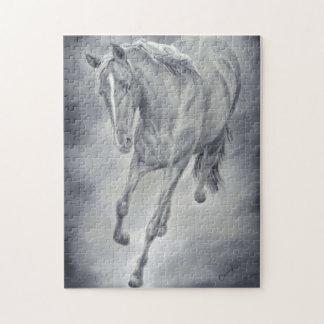 Rompecabezas corriente del caballo