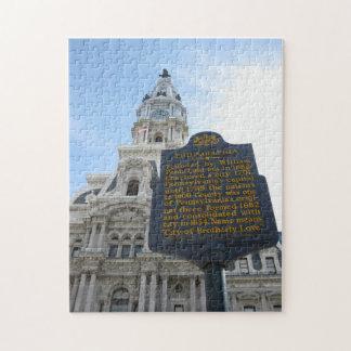 Rompecabezas de ayuntamiento de Philadelphia