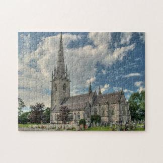 Rompecabezas de BodelwyddanWales de la iglesia de