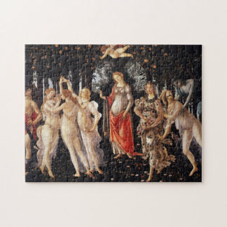 Rompecabezas de Botticelli Primavera