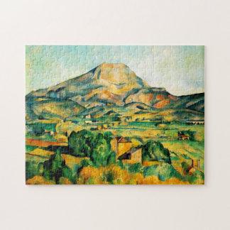 Rompecabezas de Cezanne Mont Sainte-Victoire