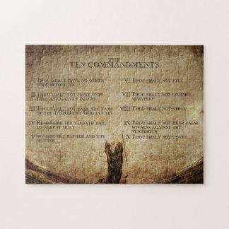 Rompecabezas de diez mandamientos