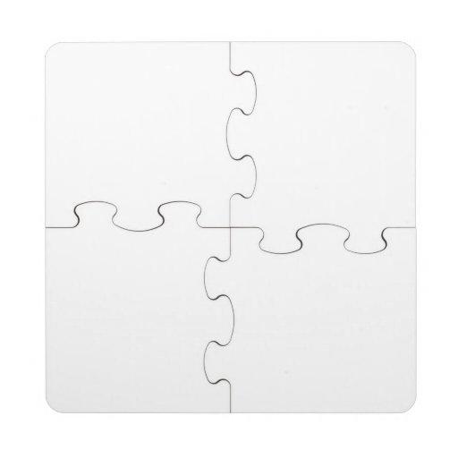 Posavasos de puzzle