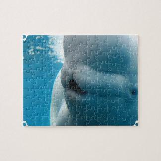 Rompecabezas de la ballena de la beluga