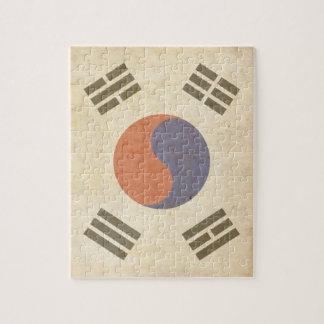Rompecabezas de la bandera de Chosunese