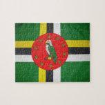 rompecabezas de la bandera de Dominica