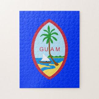 Rompecabezas de la bandera de Guam