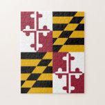 Rompecabezas de la bandera de Maryland