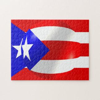 Rompecabezas de la bandera de Puerto Rico