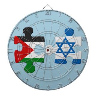 Rompecabezas de la bandera del conflicto de Israel