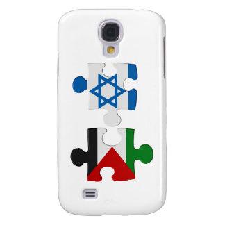 Rompecabezas de la bandera del conflicto de Israel Funda Para Galaxy S4