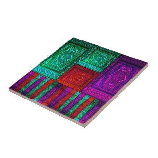 Rompecabezas de la caja del mosaico azulejos cerámicos