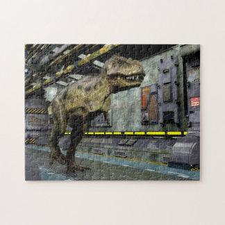 Rompecabezas de la ciencia ficción de T-Rex