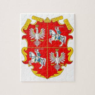 Rompecabezas de la Commonwealth de Polonia-Lituani
