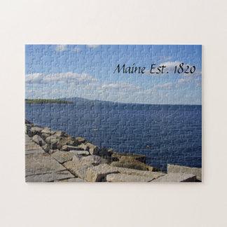 Rompecabezas de la costa de Maine