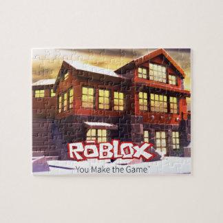 Rompecabezas de la escena del invierno de ROBLOX