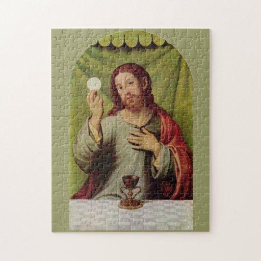 Rompecabezas de la eucaristía de Jesús