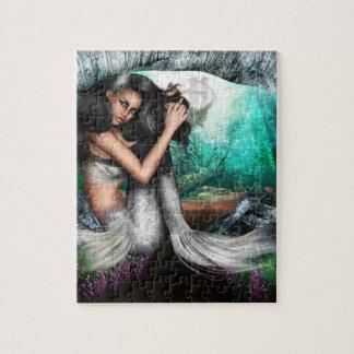 Rompecabezas de la fascinación de la sirena