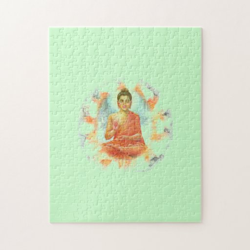 Rompecabezas de la flor de Buda