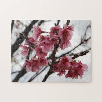 Rompecabezas de la flor de cerezo