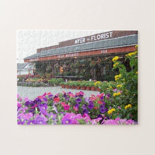 Rompecabezas de la floristería