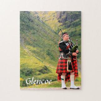 Rompecabezas de la foto de Glencoe