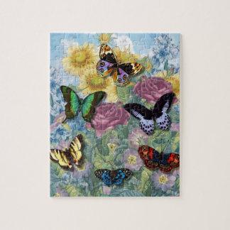 """Rompecabezas de la foto de las """"mariposas hermosas"""
