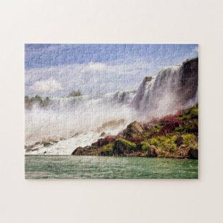Rompecabezas de la foto de Niagara Falls