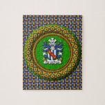 Rompecabezas de la foto del escudo 8x10 de Stradli