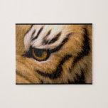 Rompecabezas de la foto del tigre