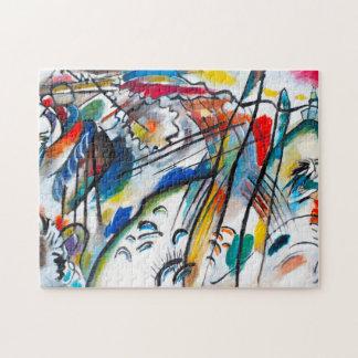 Rompecabezas de la improvisación 28 de Kandinsky