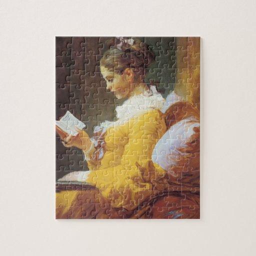Rompecabezas de la lectura de la mujer