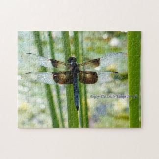 Rompecabezas de la libélula