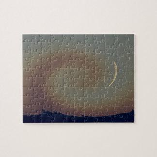 Rompecabezas de la luna del desierto